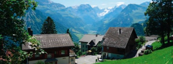Healing climatic health resort Braunwald